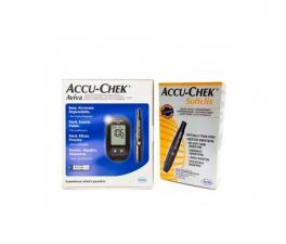 Accu-Chek Aviva Medidor + Accu-Chek Softclix - Farmacia Ribera