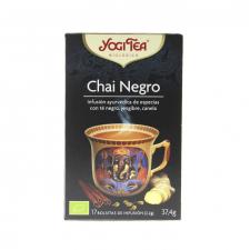 Yogi Tea Chai Negro Bio Infusión 17 Bolsitas