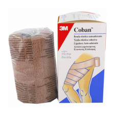 Venda Elastica Coban 1584F 4,5X10 Beige - Ortogras