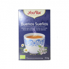 Yogi Tea Buenos Sueños Bio Infusión 17 Bolsitas