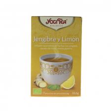 Yogi Tea Jengibre y Limón Bio Infusión 17 Bolsitas