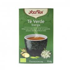Yogi Tea Té Verde Energío Bio Infusión 17 Bolsitas