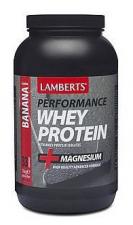Whey Protein Sabor Platano 1Kg. - Lamberts