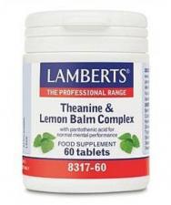 Complejo De Teanina Y Balsamo De Limon 60 Comp. - Lamberts