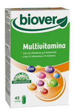 Multivitaminas (Basic Vitamin) 45 Comp. - Biover