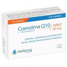 Coenzima Q10 Select 40Mg. 30Cap.