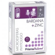 Bardana + Zinc Microesferas 30Cap.