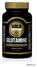 Glutamina 1000Mg. 90 Cap.  - Gold Nutrition