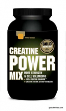 Creatina Power Mix Naranja/Mango 1Kg. - Gold Nutrition