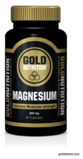 Magnesio 600Mg. 60 Cap.  - Gold Nutrition