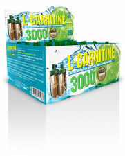 L-Carnitina 3000Mg. 20 Viales - Gold Nutrition