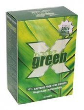 Extreme Cut Green (Cafe Verde Descafeinado)100 Comp - Gold Nutrition