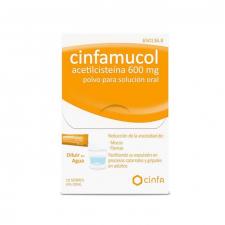 Cinfamucol Acetilcisteina (600 Mg 10 Sobres)