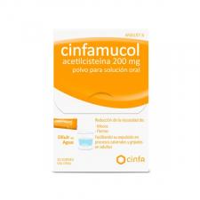 Cinfamucol Acetilcisteina (200 Mg 20 Sobres) - Cinfa