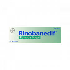 Rinobanedif (Pomada Nasal 10 G) - Bayer