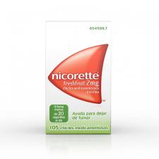 Nicorette Freshfruit (2 Mg 105 Chicles) - Johnson & Johnson