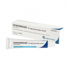 Hemorrane (10 Mg/G Pomada Rectal 30 G) - Faes Farma