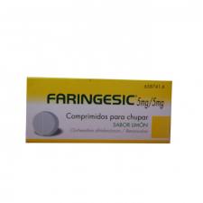 Faringesic (20 Comprimidos Para Chupar Limon) - Diafarm