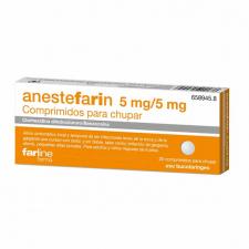 Anestefarin (20 Comprimidos Para Chupar) - Varios