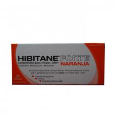 Hibitane Forte (20 Comprimidos Para Chupar Naranja) - Omega Pharma