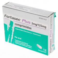 Fortasec Plus 2/125mg 12 Comprimidos