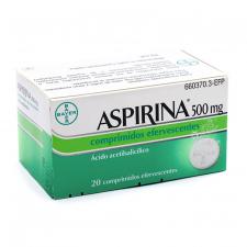 Aspirina (500 Mg 20 Comprimidos Efervescentes) - Bayer