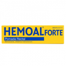 Hemoal Forte (Pomada Rectal 50 G) - Reckitt Benk