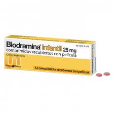 Biodramina Infantil (25 Mg 12 Comprimidos) - Aquilea-Uriach