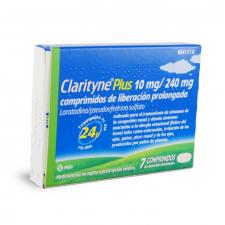 Clarityne Plus (10/240 Mg 7 Comprimidos Liberacion Prolongada) - Bayer