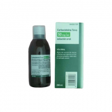 Carbocisteina Teva (50 Mg/Ml Solución Oral 200 Ml) - Teva
