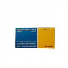 Zovicrem Labial (50 Mg/G Crema 2 G Tubo) - Glaxo Smithkline
