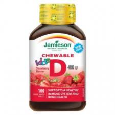 Vitamina D3 400Iu/10Mcg Fresa 100Comp.