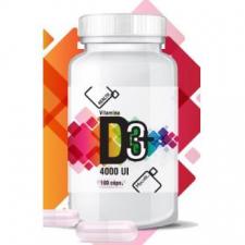 Vitamina D3+ 4000Ui 100Cap.