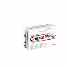 Gelocatil (650 Mg 12 Comprimidos (Tiras)) - Ferrer