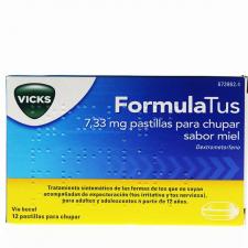 Formulatus (7.33 Mg 12 Pastillas Para Chupar Miel)