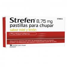 Strefen (8.75 Mg 16 Pastillas Para Chupar Miel Y Limon) - Reckitt Benk