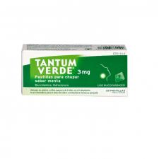 Tantum Verde (3 Mg 20 Pastillas Para Chupar Menta) - Angelini