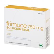 Frimuce (750 Mg 12 Sobres Solucion Oral 15 Ml) - Varios