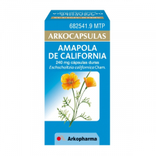 Arkocapsulas Amapola De California (240 Mg 50 Capsulas) - Arkopharma
