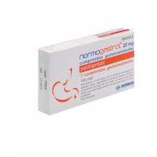 Normogastrol Efg (20 Mg 7 Comprimidos Gastrorresistentes)