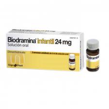 Biodramina Infantil (24 Mg Solucion Oral 5 Monodosis 6 Ml) - Aquilea-Uriach