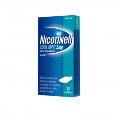 Nicotinell Cool Mint (2 Mg 12 Chicles Medicamentosos) - Novartis