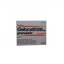 Gelocatil (500 Mg 12 Sobres Granulado) - Ferrer