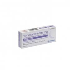 Normodorm (25 Mg 14 Comprimidos Recubiertos) - Normon