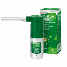 Tantum Verde (510 Mcg/Pulsacion Aerosol Bucal 15 Ml) - Angelini