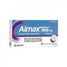 Almax (500 Mg 30 Comprimidos Masticables)