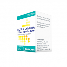 Ultra-Levura (250 Mg 20 Cápsulas) - Zambon