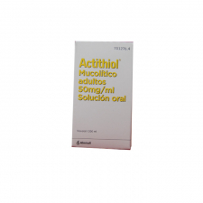 Mucoactiol (50 Mg/Ml Solucion Oral 200 Ml) - Almirall