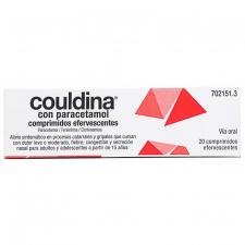 Couldina Con Paracetamol (20 Comprimidos Efervescentes) - Alter Fcia