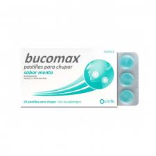 Bucomax (24 Pastillas Para Chupar Menta) - Cinfa